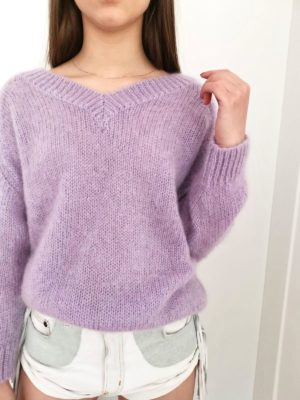 Pure Love Purple Mohair