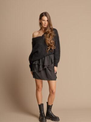 Pure Love Black Mohair