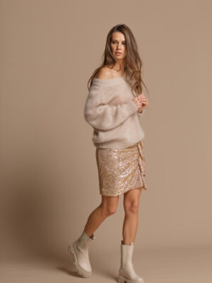Pure Love Beige Mohair