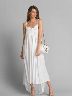 Sukienka Venezia Maxi White
