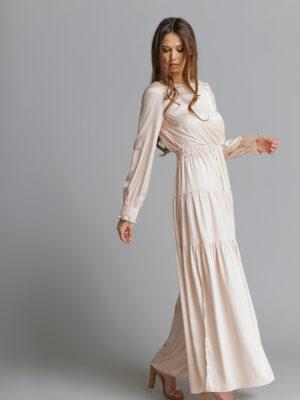 Sukienka Carmen Ecru