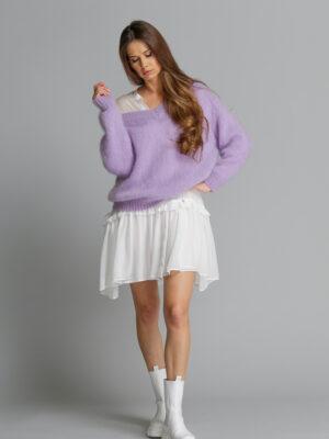 Pure Love Lilac Mohair